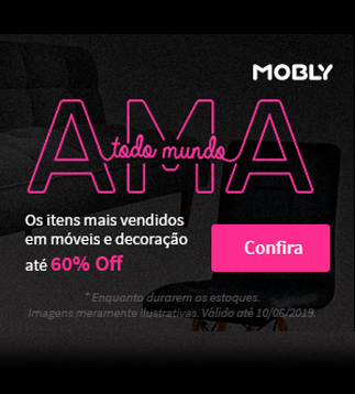 60%OFF! Com amor, MOBLY