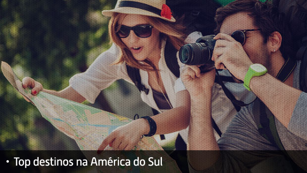Top Lista Destinos na América do Sul